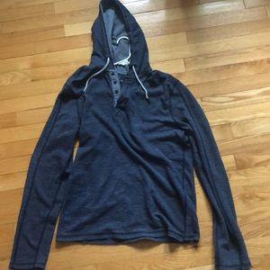 Large blue lightweight hoodie